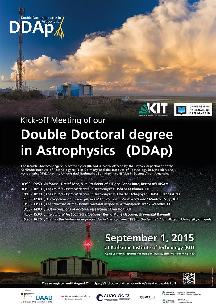 Astrophysics degrees courses
