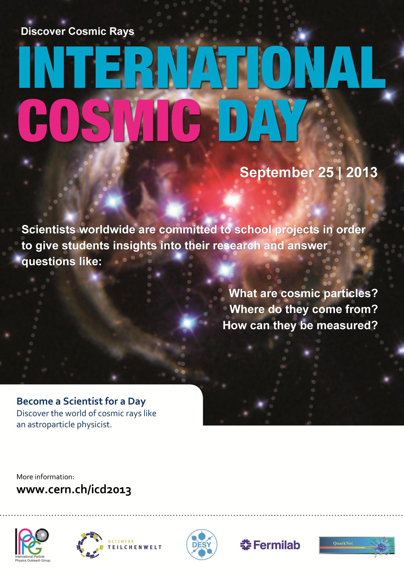 International Cosmic Day 2013