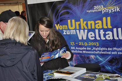 Highlights der Physik 2013