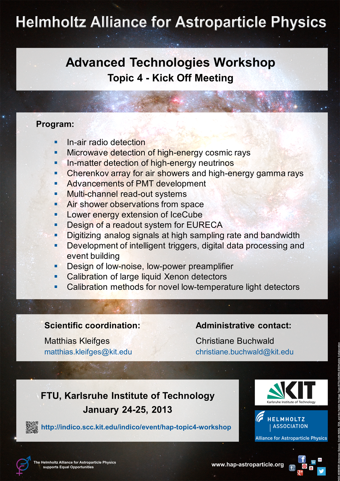 HAP - Advanced Technologies Kick Off Meeting