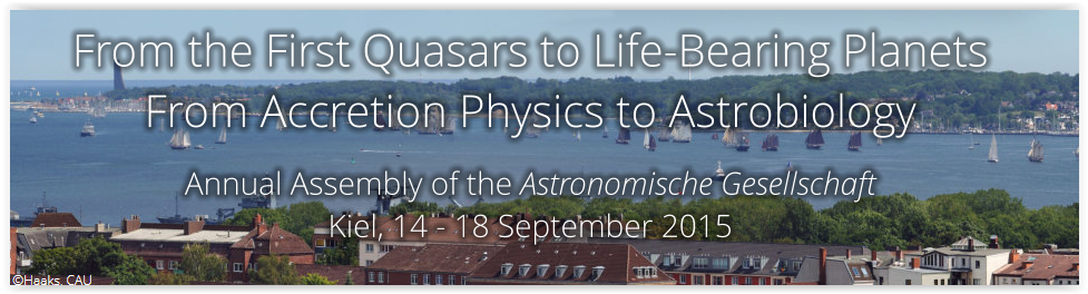 Annual Meeting of the German Astronomical Society 2015