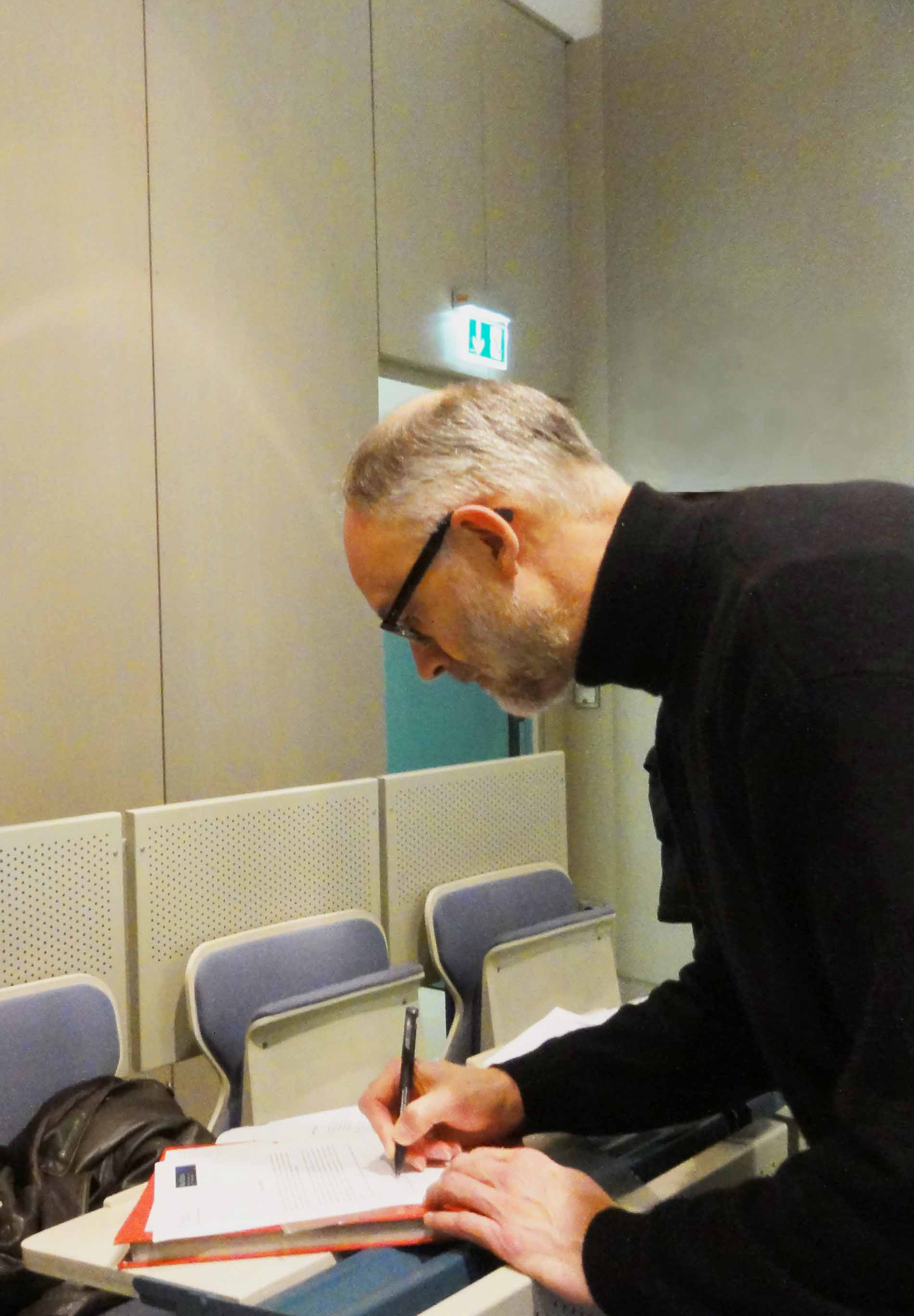 Prof. Dr. Blümer, Scientific Coordinator of HAP
