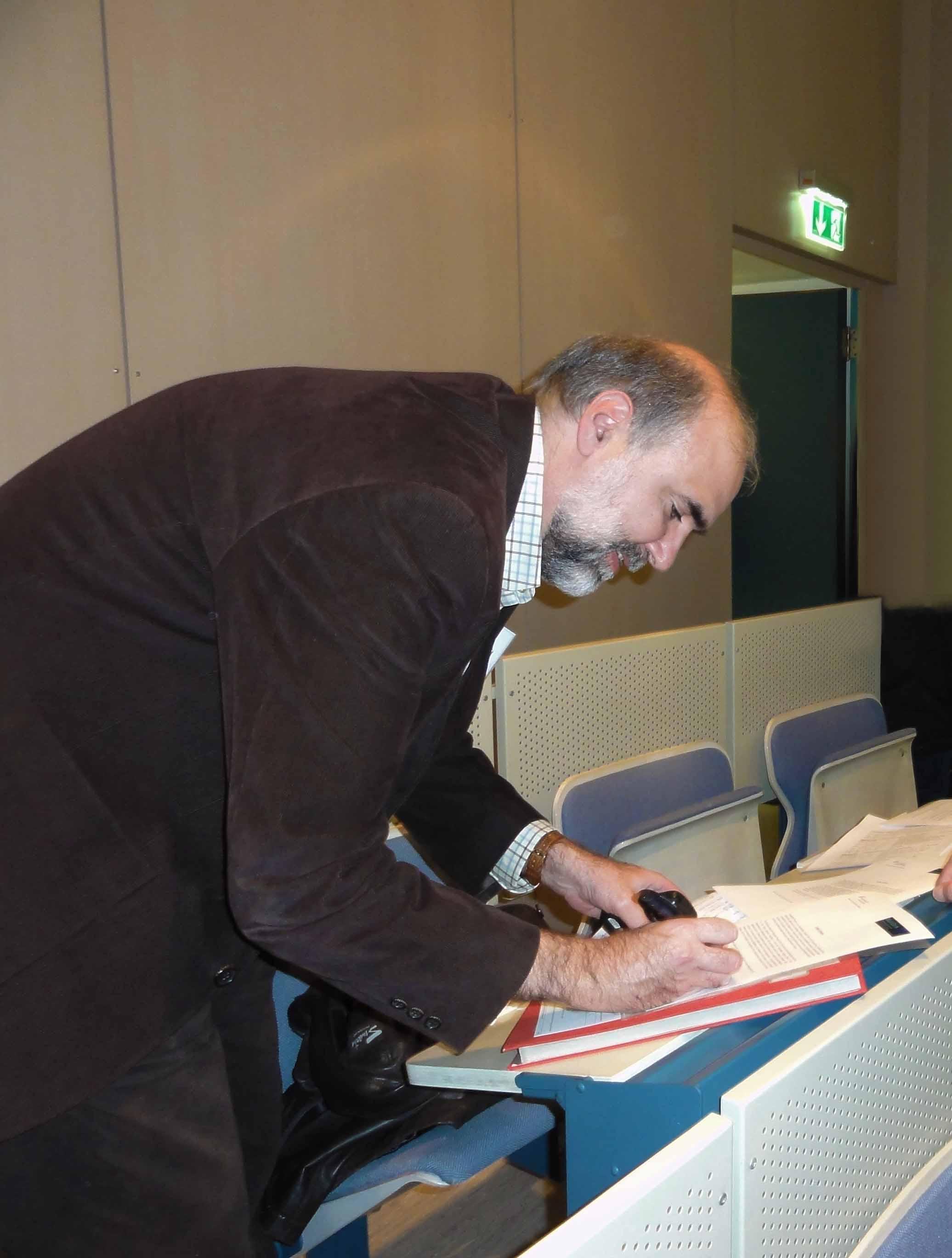 Prof. Dr. Muñoz, Coordinator of MultiDark